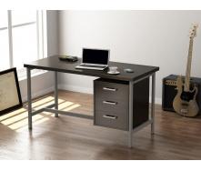 Офисный стол Loft design L-45 1300х750х650 мм Венге Корсика
