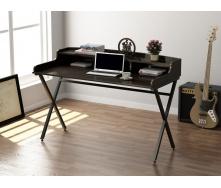 Офисный стол Loft-design L-10 1160х750х580 мм дсп венге-корсика