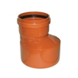 Переход-редукция канализационный наружный 110х160 мм