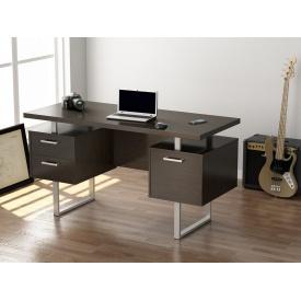 Офісний стіл Loft-design L-81 1450х750х650 мм дсп венге-корсика