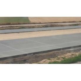 Пристрій бетонної дороги
