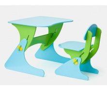 Стілець і стіл з регульованою висотою