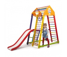 Детский спортивный комплекс SportBaby BambinoWood Color Plus-2