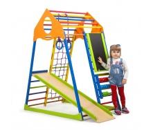 Детский спортивный комплекс SportBaby KindWood Color Plus