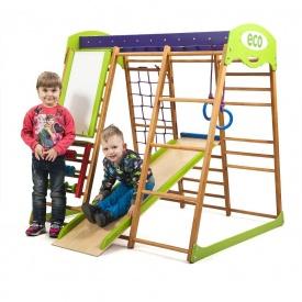 Детский спортивный комплекс для квартиры Карамелька SportBaby