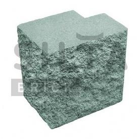 Полублок декоративный Силта-Брик Элит 32 угловой полнотелый 190х190х140 мм