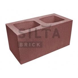 Блок гладкий Силта-Брик Цветной 24-2 широкий 390х190х190 мм