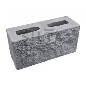 Блок декоративний Сілта-Брік Сірий 14 390х190х140 мм