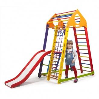 Детский спортивный комплекс BambinoWood Color Plus 2 SportBaby