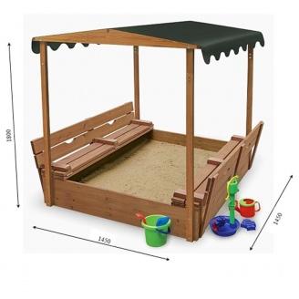 Песочница деревянная
