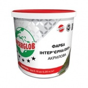 Фарба інтер'єрна акрилова ЕКО+ Ансерглоб 7,5 кг