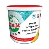 Фарба інтер'єрна акрилова Стійка до миття Ансерглоб 7,5 кг