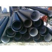 Пластикова гофрована каналізаційна труба двошарова посиленого типу SN16 400х3000 мм