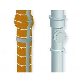 Звукоизоляция трубы, набор для самостоятельного монтажа.