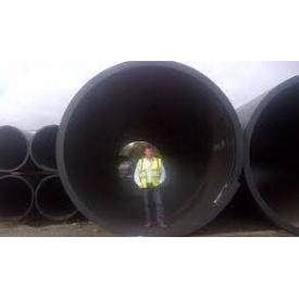 Труба гофрированная канализационная большого диаметра усиленного типа SN12 800х6000 мм