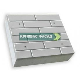 Термопанель КРИВБАССФАСАД Гладкий кирпич 100 мм