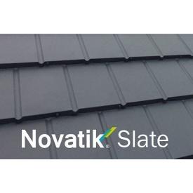 Модульная металлочерепица Novatik Slate 1320 мм