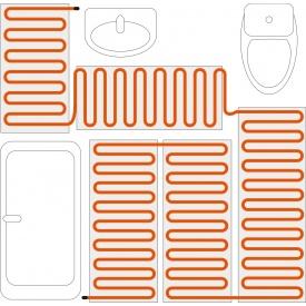 Нагревательный кабель для обогрева пола 20 Вт\м