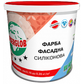 Краска фасадная Anserglob силиконовая 5 л