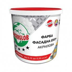Краска акриловая Фасад ЭКО+ Л 14 кг Anserglob