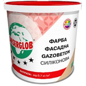 Краска фасадная Anserglob Gazobeton силиконовая 10 л