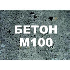 Бетон В7,5 М100 П3