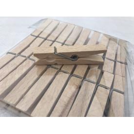 Прищепки деревянные 20 шт