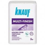 Шпаклевка Мульти-финиш Knauf гипсовая 5 кг