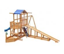 Детская площадка SportBaby Капитан с зимней горкой Babyland-13