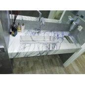Столешница из мрамора Престиж Мрамор 20х600 мм Milas Leylak