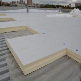 Теплоізоляційна панель PIR для плоскої покрівлі