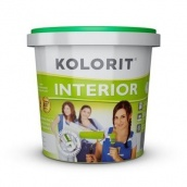 Краска интерьерная Kolorit Interior Эко 5 л