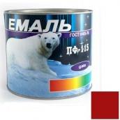Эмаль Gaia ПФ-115 красная 2,5 кг