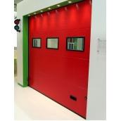 Секционные промышленные ворота Alutech ProTrend микроволна 3000*3000