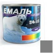 Емаль Gaia ПФ-115 сіра 2,5 кг