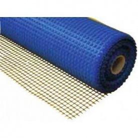 Сітка скловолоконна фасадна 160 г/м2 5х5 мм 1х50 м синя