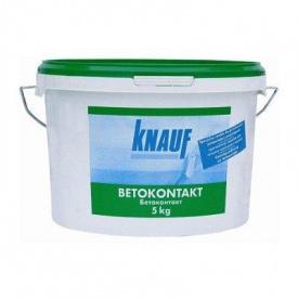 Грунтівка Knauf Betokontakt 5 кг