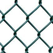 Сетка рабица с ПВХ покрытием ячейка 35 мм 1,2х10 м зеленая