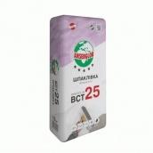 Шпаклівка фінішна Ансерглоб БСТ 25 біла 15 кг