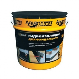 Мастика бітумна AquaMast для фундаменту 18 кг