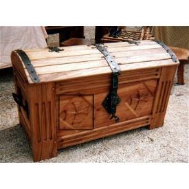 Сундук деревянный напольный Стандарт 80 см