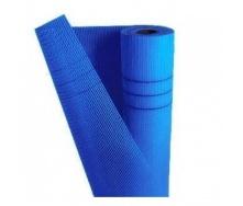 Армирующая стеклосетка 145 г/м2 50 м синяя