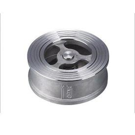 Клапан обратный межфланцевый дисковый Lateya сталь AISI 304 20 мм