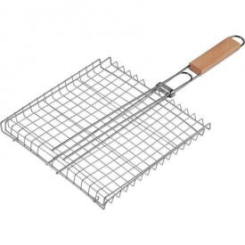Решетка барбекю плоская средняя 59х40х30 см