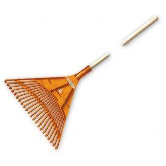 Граблі віялові Bradas KT-CX22B 22 зубця дерев'яний держак
