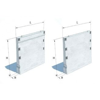 Стінова панель ПС 1-36-Б4