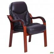 Крісло AMF Буффало CF комбінована шкіра Люкс темно коричневий