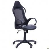 Кресло компьютерное AMF Nitro сиденье Неаполь N-20 Жемчуг-07 спинка сетка 670x670x1250 мм черное