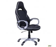 Компьютерное кресло АМФ Страйк CX 0496H Y10-02 черный кант белый