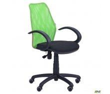 Кресло AMF Oxi АМФ-5 сиденье А-01 спинка сетка салатовый